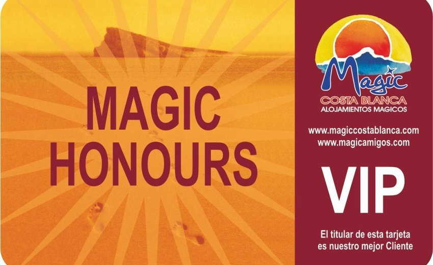 Club VIP 'Magic Honours' Magic Robin Hood Alfaz del Pi
