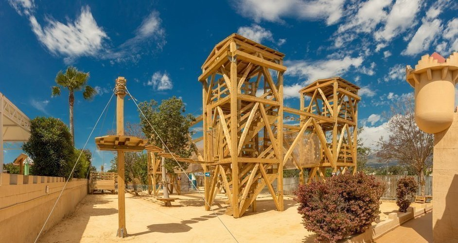 Multi-adventure park - adventure circuit magic robin hood holiday park alfaz del pi