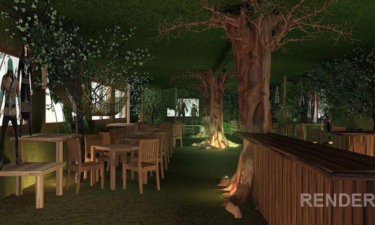 Forest Cafe Magic Robin Hood Holiday Park Alfaz del Pi