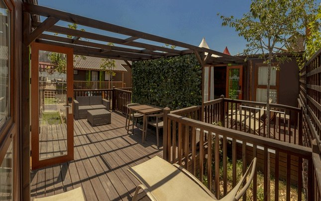 'new sherwood' 3 bedrooms lodge magic robin hood holiday park alfaz del pi