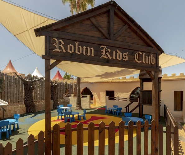 Playground magic robin hood holiday park alfaz del pi