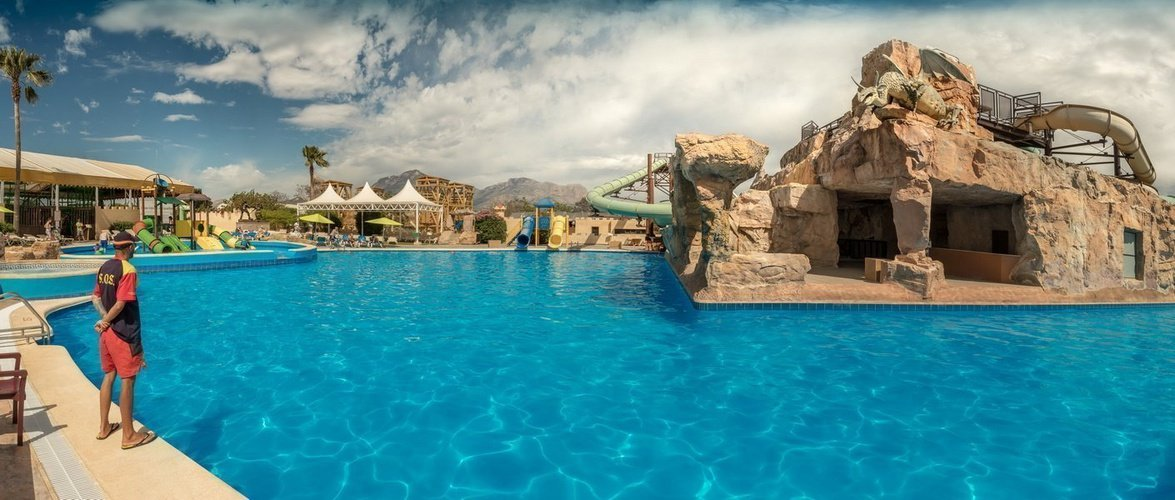 Magic aqua experience™ - swimming pool magic robin hood holiday park alfaz del pi