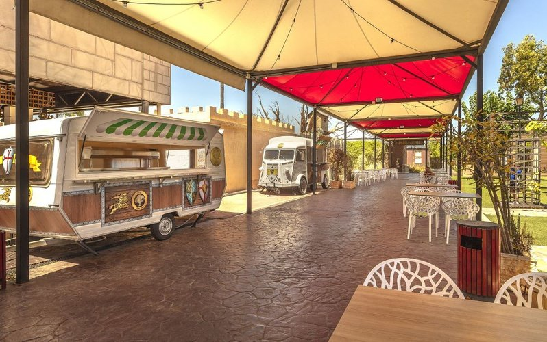 Foodtruck magic robin hood holiday park alfaz del pi