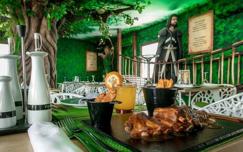 Restaurant magic robin hood holiday park alfaz del pi
