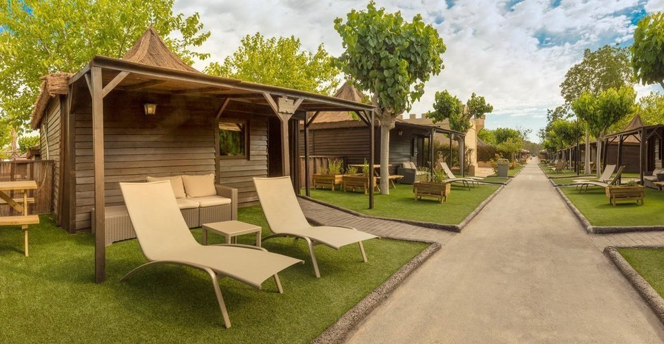 'sherwood' lodges magic robin hood holiday park alfaz del pi