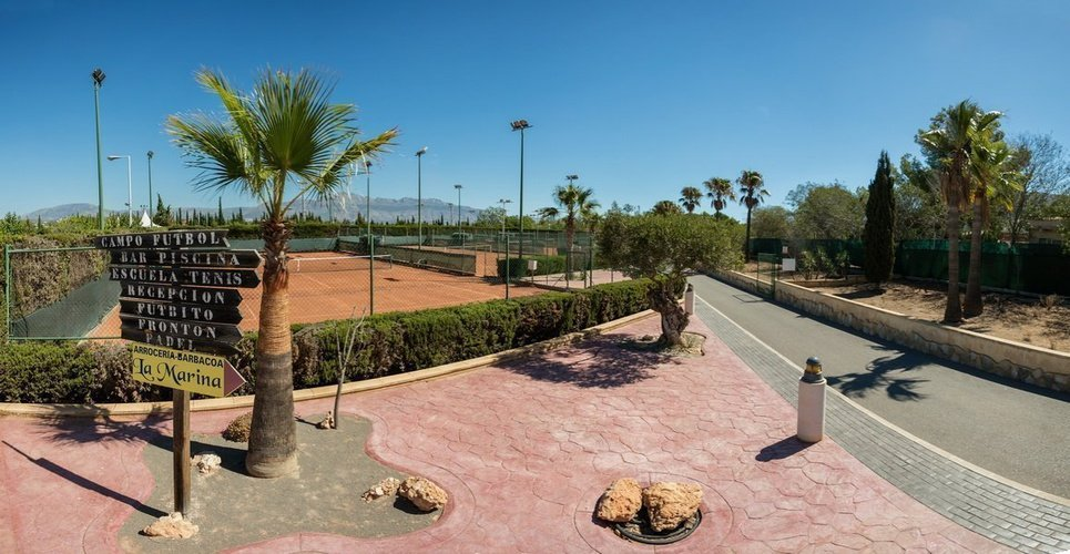 'la marina' sport club magic robin hood holiday park alfaz del pi