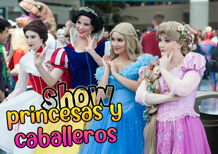 Show princesses and knights magic robin hood holiday park alfaz del pi