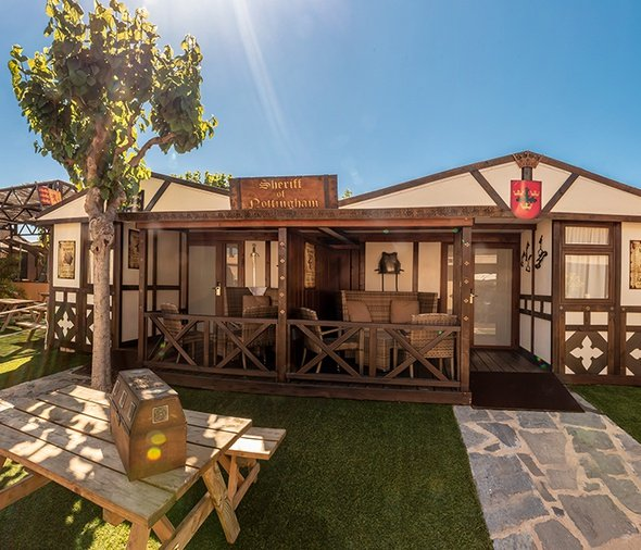 Exclusive cabins magic robin hood holiday park alfaz del pi