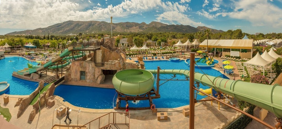 Magic aqua experience™ - bowl slide magic robin hood holiday park alfaz del pi