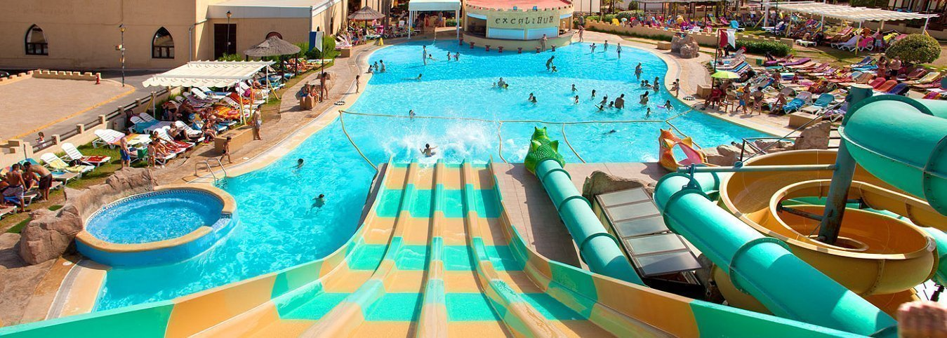 Toboganes Magic Aqua Experience™ Holiday Park Magic Aqua™ Excalibur